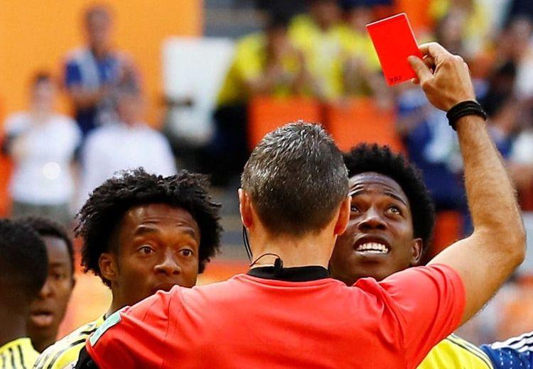 4 Pemain yang Paling Cepat Mendapat Kartu Merah di Piala Dunia