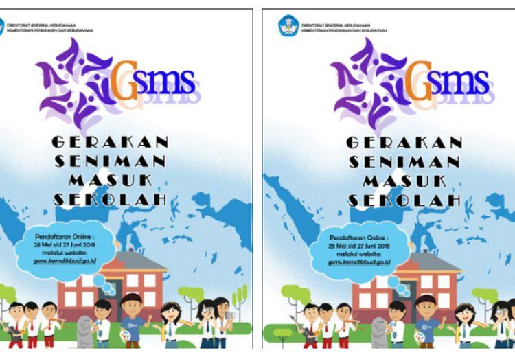 Kemendikbud RI Adakan Program Gerakan Seniman Masuk Sekolah (GSMS), Apa Itu?