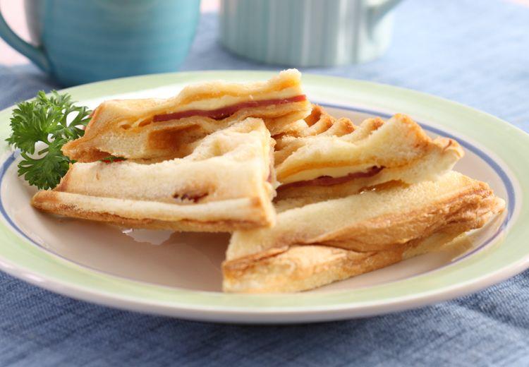 Resep Membuat Roti Panggang Wafel yang Praktis Jadi Camilan Malam Ini