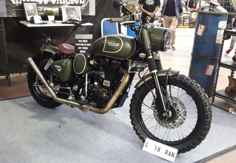 Royal Enfield Milik Anak Presiden, Digarap Workshop Katros Garage