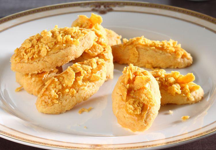 Bukan Hanya Pas Lebaran Saja, Cornflake Cheese Cookies Juga Bisa Jadi Camilan Favorit Sore Nanti