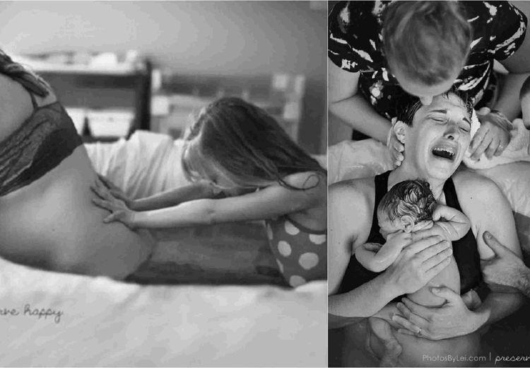 Deretan Foto Proses Melahirkan: Jadi Bukti Surga di Telapak Kaki Ibu