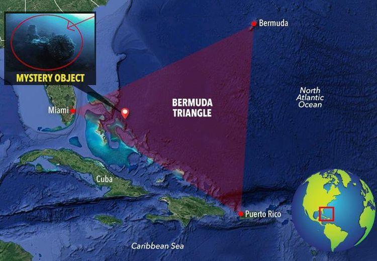 Penyelam Ini Klaim Temukan Obyek Misterius di Bawah Segitiga Bermuda, Seperti Apa Bentuknya?