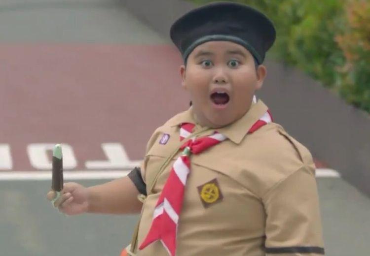 Ekspresi Fairel Viral Pas Lihat Presiden Jokowi Naik Moge di Opening Asian Games 2018