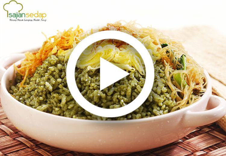 [Video] Sajikan Sarapan Berbeda Tetapi Tetap Sehat dengan Resep Nasi Uduk Hijau Ini
