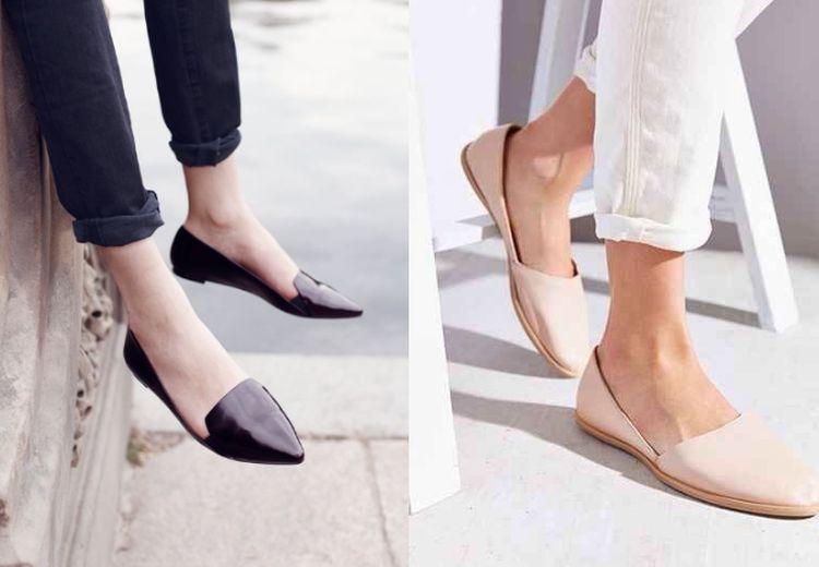 Tips Membersihkan Flat Shoes Kulit Sintetis Agar Tetap Awet, Jangan Sampai Salah!