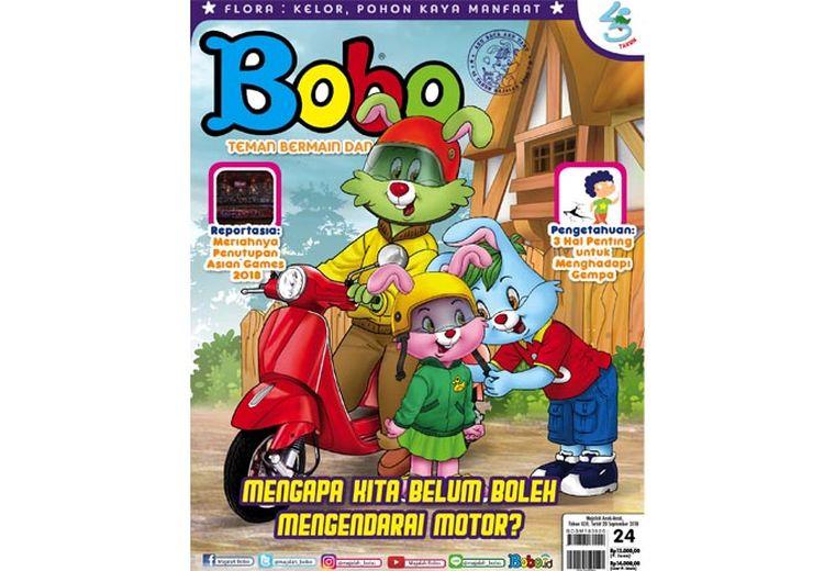 Asyik, Majalah Bobo Edisi 24 Sudah Bisa Dibaca! (Terbit 20 September 2018)