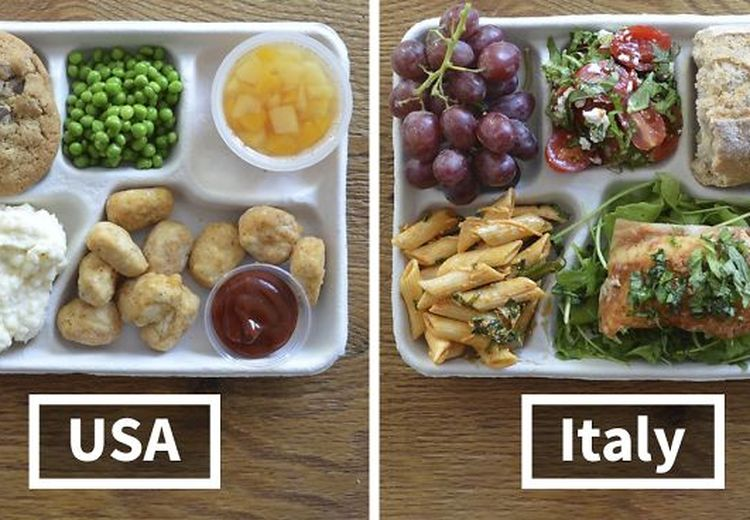 Menggiurkan, Ini Nih Menu Makan Siang Pelajar di Berbagai Negara!