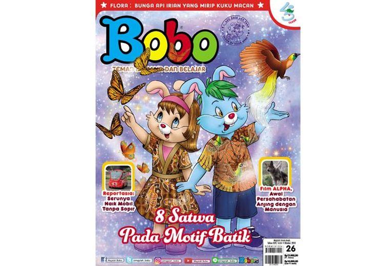 Aneka Motif Batik di Majalah Bobo Edisi 26 (Terbit 4 Oktober 2018)