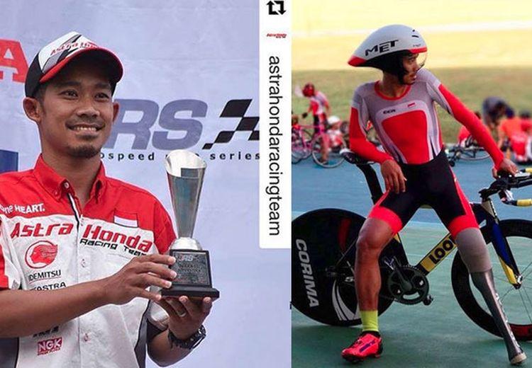 M. Fadli Mantan Pebalap Motor, Melejit di Asian Para Games 2018