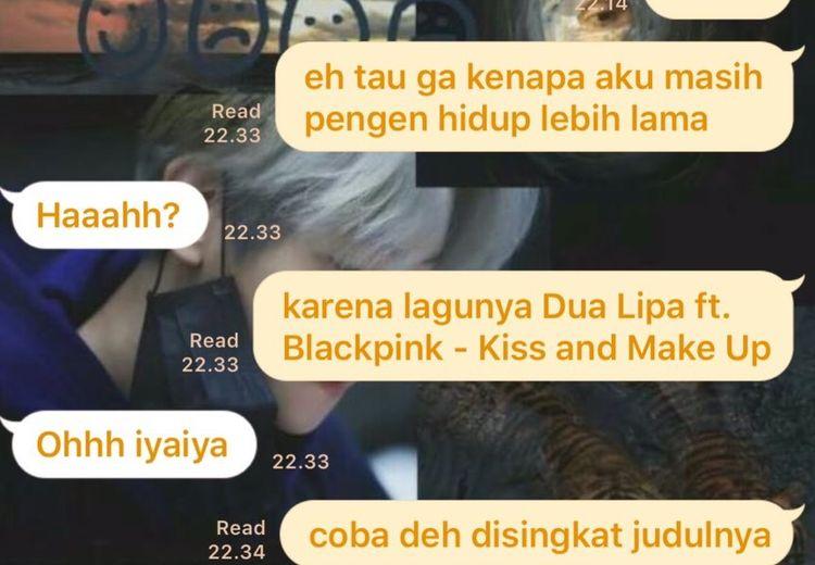 Duh, Lagu Dua Lipa x Blackpink Ramai Jadi Candaan Netizen Indonesia!