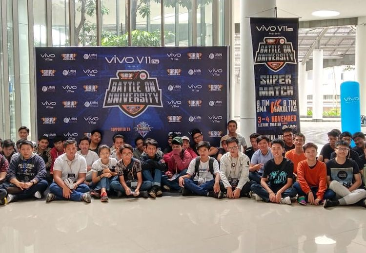 Main Mobile Legends Sambil Merasakan Canggihnya Vivo V11 Pro di Battle On University