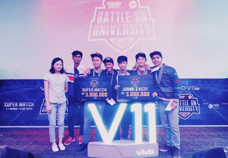 Kenalan sama Tim LEGENDS, Pemborong Juara di Battle of University