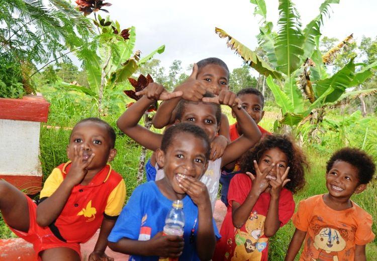 Hutan, Taman Bermain Anak Indonesia di Perbatasan Papua Nugini
