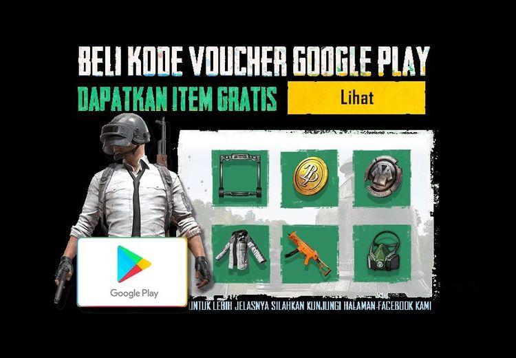 Asik! Ada Promo Voucher Berhadiah untuk PUBG Mobile dengan Google Play