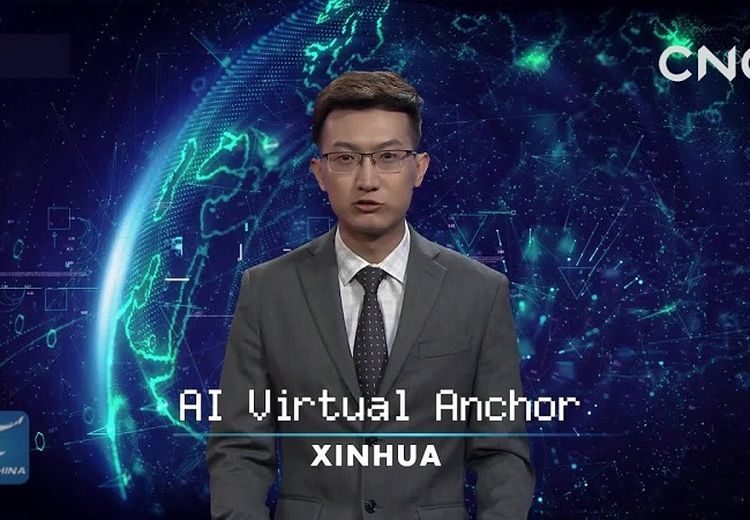 Terbuat dari AI, Ini Dia Pembawa Berita Virtual Pertama di Dunia