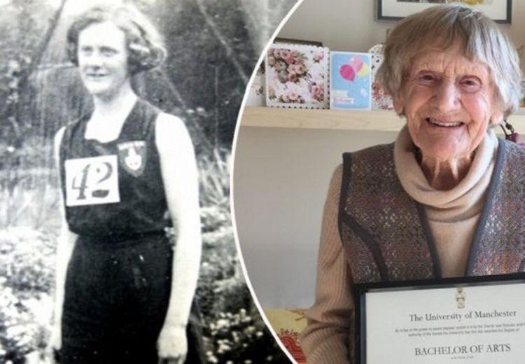 80 Tahun Menunggu, Nenek Ini Akhirnya Menjadi Sarjana Setelah Melewati Usia 1 Abad