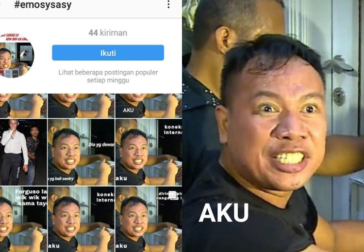 Muncul Meme Lucu dari Aksi Dramatis Vicky Prasetyo Grebek Rumah Angel Lelga, Ini 10 di Antaranya