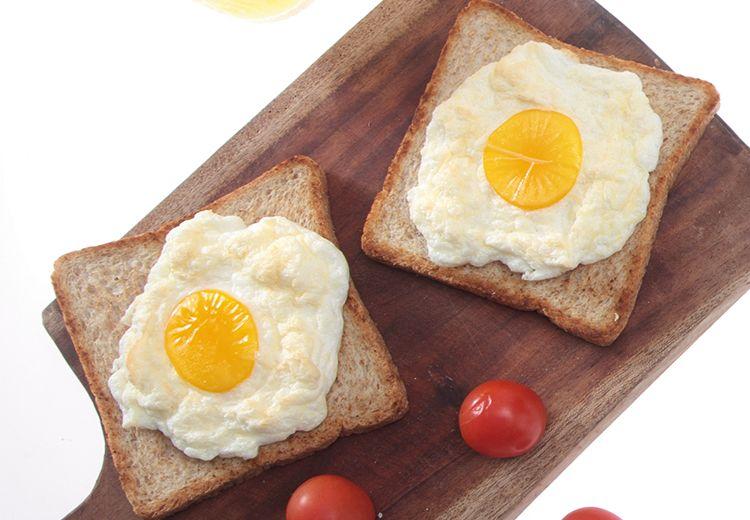 Resep Membuat Egg Cloud With Toast Bread, Sarapan Fancy Yang Mudah Dibuat