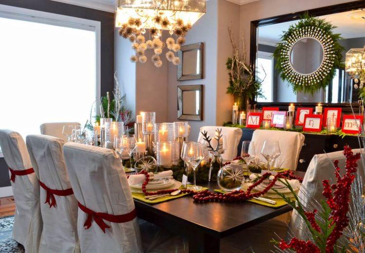 3 Inspirasi Dekorasi Natal di Ruang Makan, Kumpul Keluarga Jadi Hangat