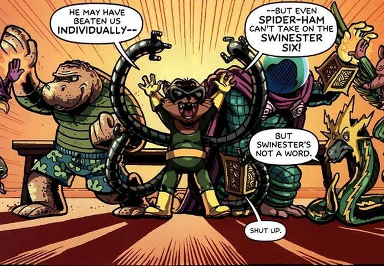 Spider-Ham Bukan Satu-satunya. 10 Tokoh Marvel Ini Juga Pernah Dibikin Parodi Jadi Hewan Kocak