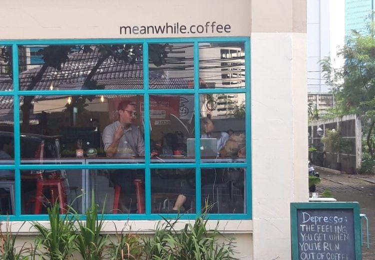 Meanwhile Coffee, Kedai Kopi Kekinian yang Jadi Pilihan Ridwan Kamil dan Sandiaga Uno