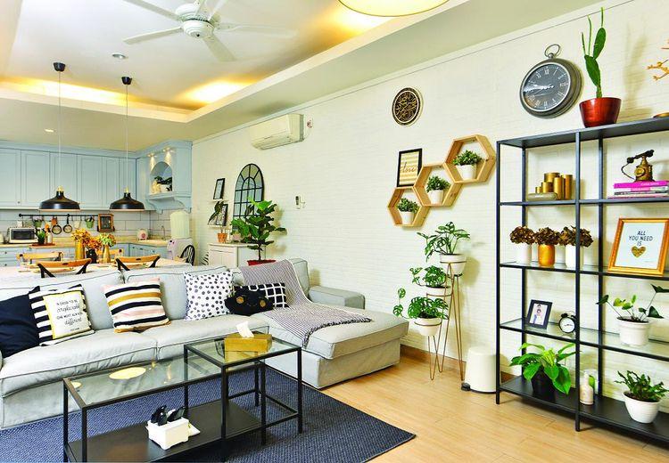 Tak Monoton, Intip Inspirasi Desain Ruang Keluarga Penuh Dekorasi