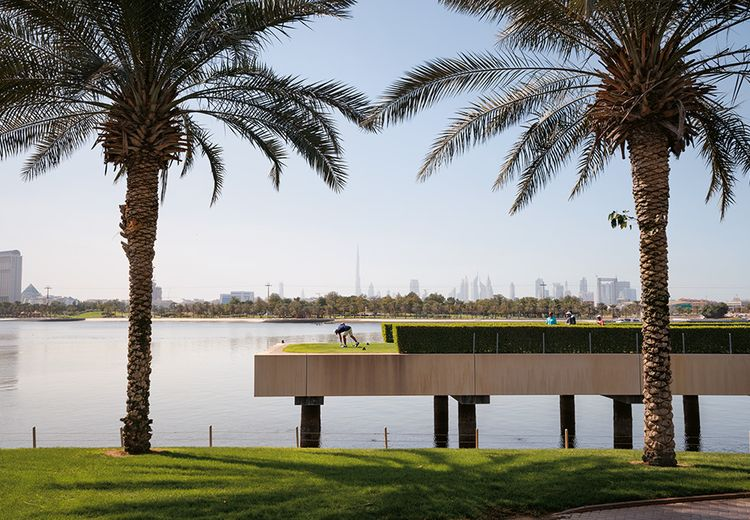 FOTO: Golf Ramah Lingkungan di Dubai