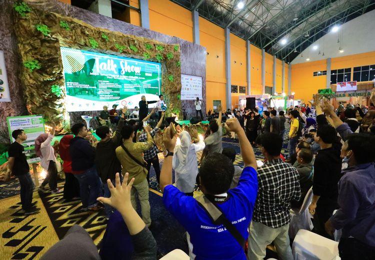 Lika-liku dari Anjangsana Para Pelestari Alam Indonesia di Makassar