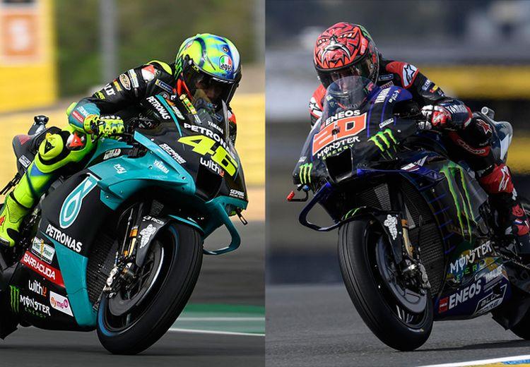 MotoGP Prancis 2021 - Berbeda dari Rossi, Quartararo dapat Wangsit dari Trek Basah