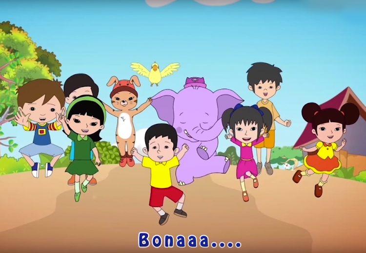 [VIDEO] Hiburan Seru Menonton Video Bona and Friends