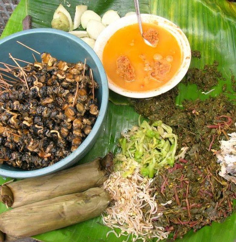 Pecel Semanggi Surabaya Rahasianya Ada Pada Bumbu Bobo