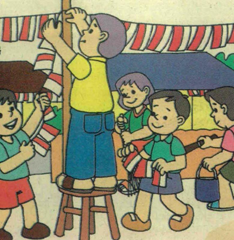 6 Cara Merayakan Hari Kemerdekaan Bobo