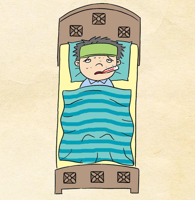 76 Gambar Gambar Kartun Orang Sakit Paling Keren