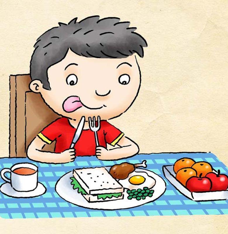 Makan Makanan Sehat Yuk Bobo