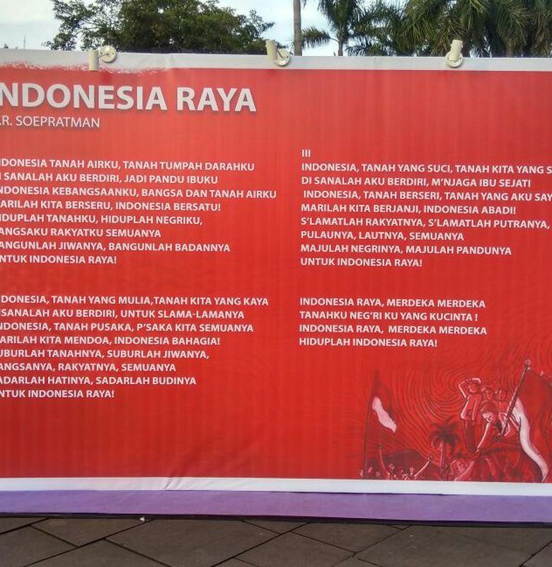 Lagu Indonesia Raya 3 Stanza Semua Halaman Bobo Grid Id