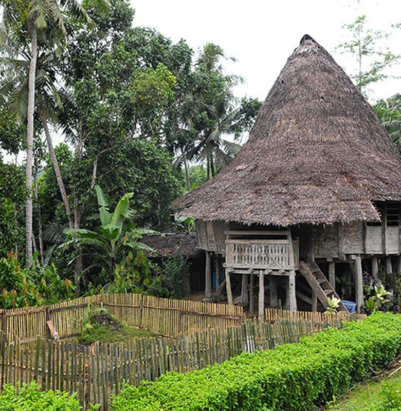 16308 rumah tradisional nias utara