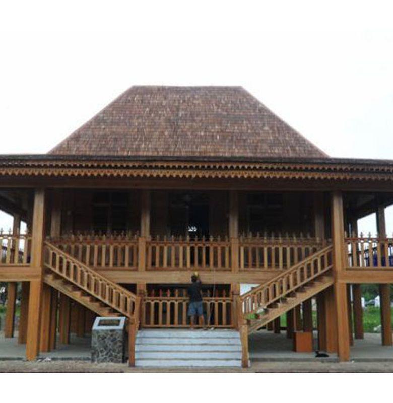 Rumah Limas Rumah Tradisional Sumatera Selatan Bobo
