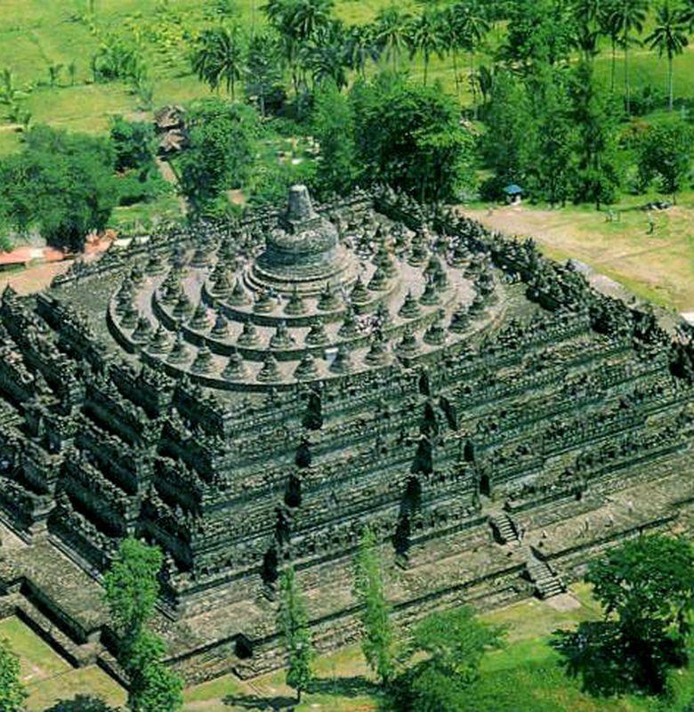 Gambar 3d Candi Borobudur - Gambar Keren 2020