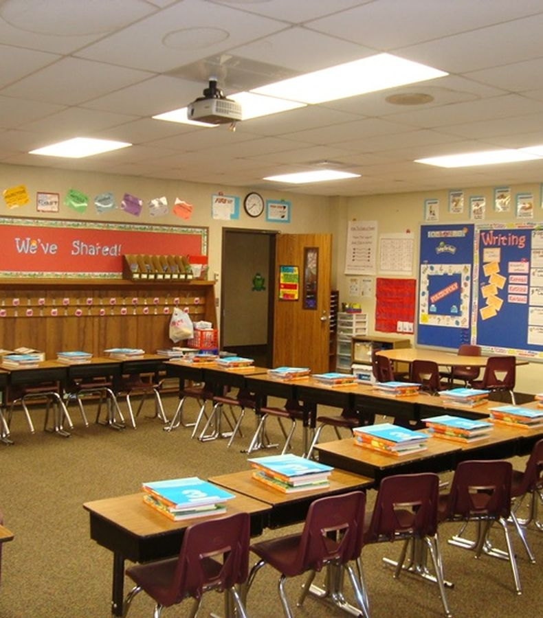 Mendekor Ruang Kelas Di Hari Guru Nasional Semua Halaman