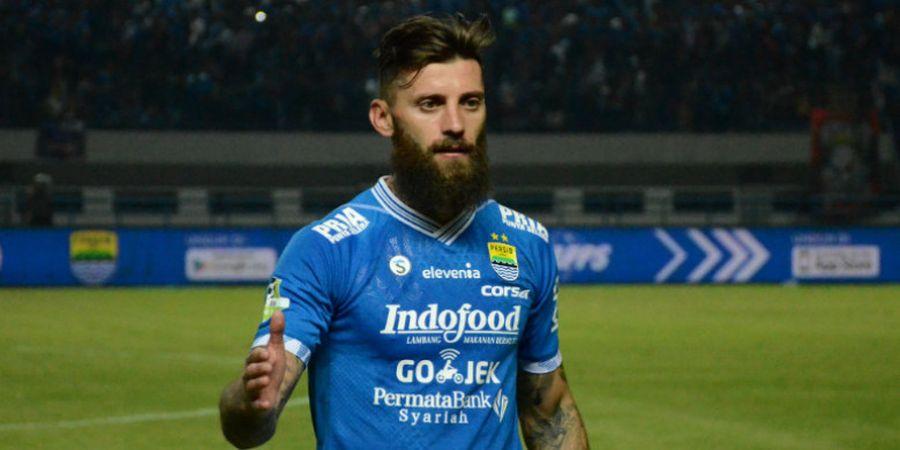 Bojan Malisic Kembali ke Persib Bandung dengan Kontrak Baru