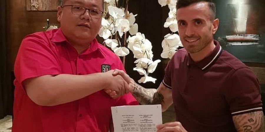 Yabes Tanuri Minta Paulo Sergio Segera Gabung ke Skuat Bali United