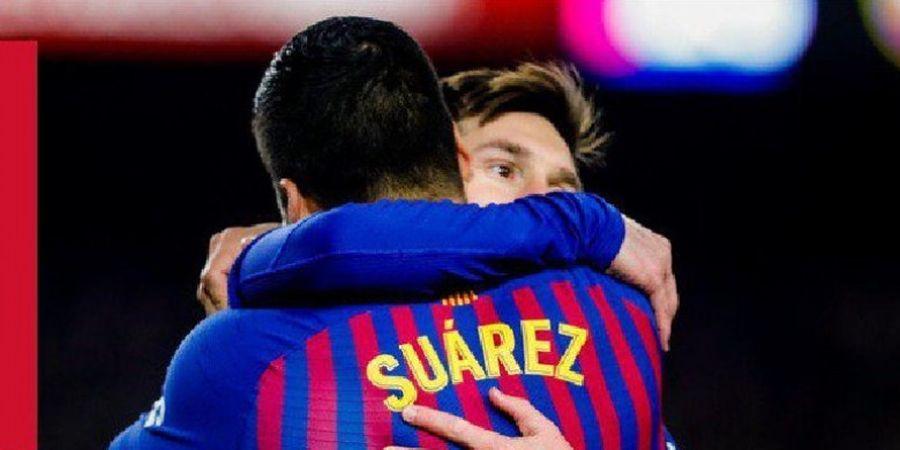 Messi Jatuh, Kepala Pique Bocor, Barcelona Tertinggal dari Valencia