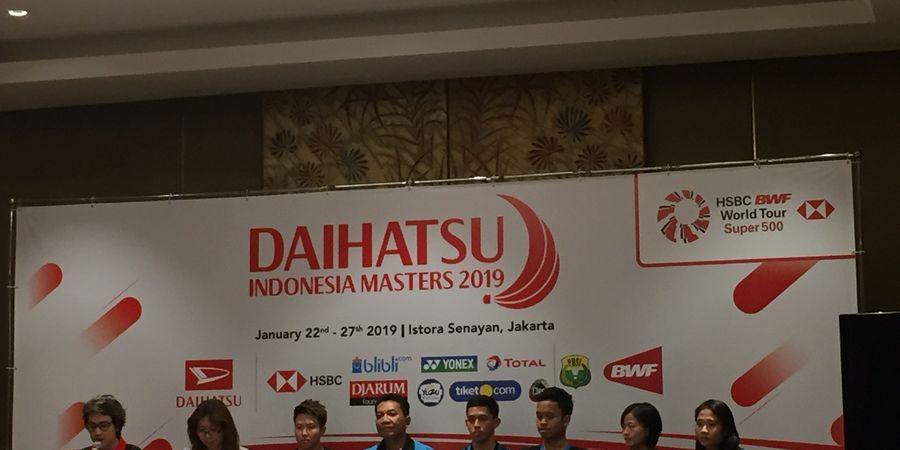 Indonesia Masters 2019 - Semangat Asian Games 2018 Wajib Diulangi