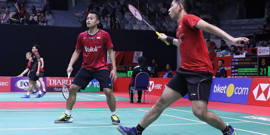 Indonesia Masters 2019 - Akbar/Reza Gagal ke Babak Utama karena Main Kurang Tenang