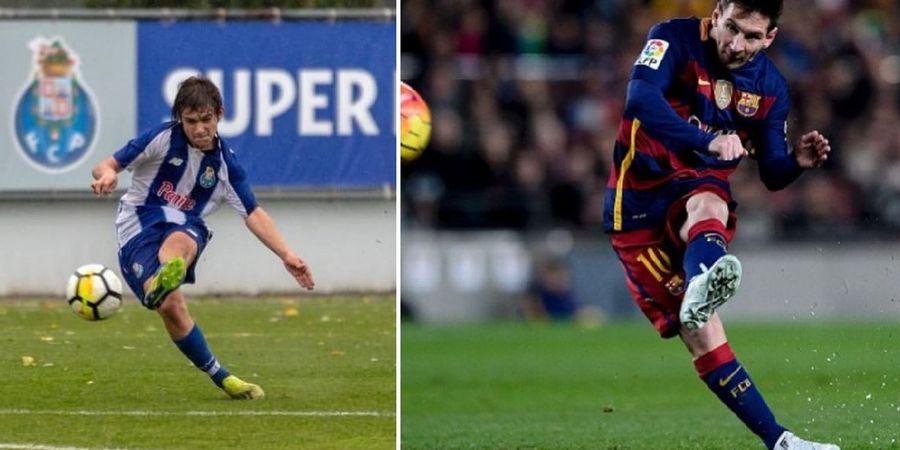 VIDEO - Aksi Anak Legenda Timnas Portugal Titisan Lionel Messi
