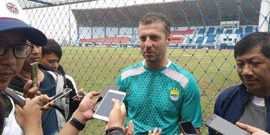 Miljan Radovic Mengaku Kecewa dengan Sikap Pendukung Persib Bandung