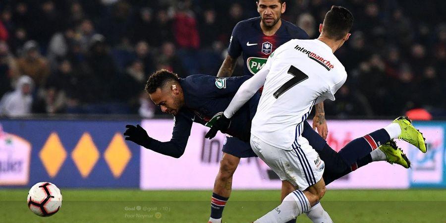Neymar Terus Dapat Perlakuan Kasar di Liga Prancis, Sang Ayah Berang