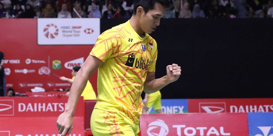 New Zealand Open 2019: Jonatan Christie Ingin Fokus pada Perempat Final