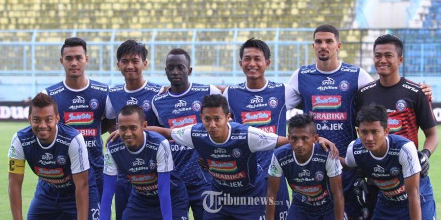 Arema FC Tanpa Dua Gelandangnya Saat Hadapi Persib Bandung